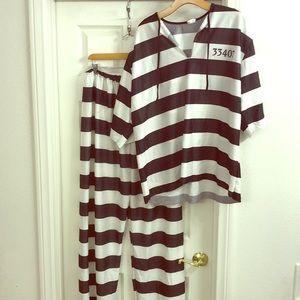 Men's Prison Costume